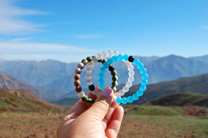 My Lokai bracelets embody the balance in life-- mud from the Dead Sea and water from Mount Everest, the lowest and highest places on earth. They resembling the lowest and highest places in one's life. Find the balance in life and just be. Everything will fall into place as it should.