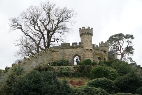 One of the motes of Warwick Castle.