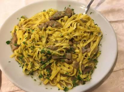 Amazing mushroom pasta!