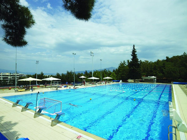 Olympic pool in Athens, Greece.
