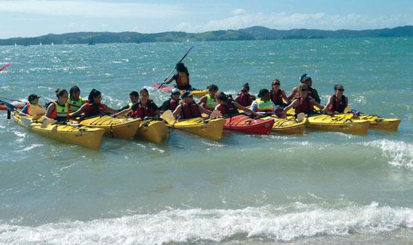Auckland-Kayak-Trip