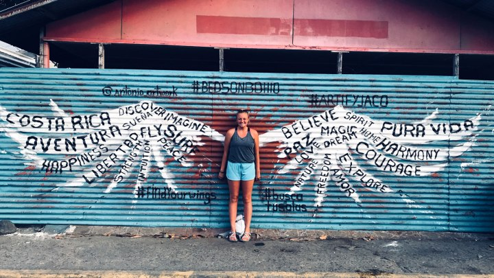 ISA student studying abroad in Costa Rica.