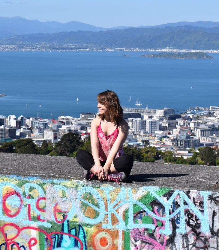 An ISA student in Wellington, New Zealand