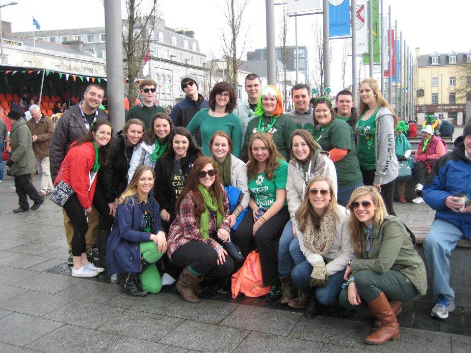 study abroad ireland st. paddy's