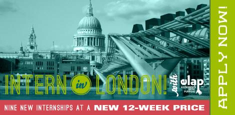 ELAP Internships in London