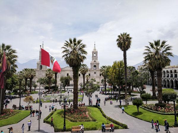 Arequipa's Plaza deArmas