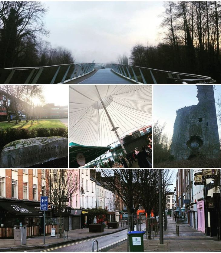 Photo collage of locations in Limerick