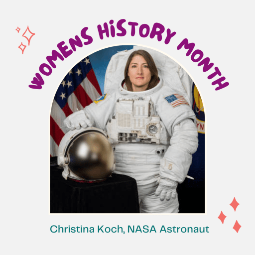 Test: Womens History Month, Christina Koch, Nasa Astronaut