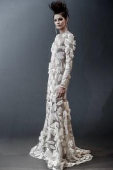 Naeem Khan Bridal Spring 2019 (Photo: Vogue.com)