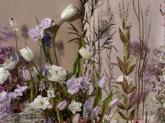 naeem khan purple flowers for a spring wedding harpers bazaar