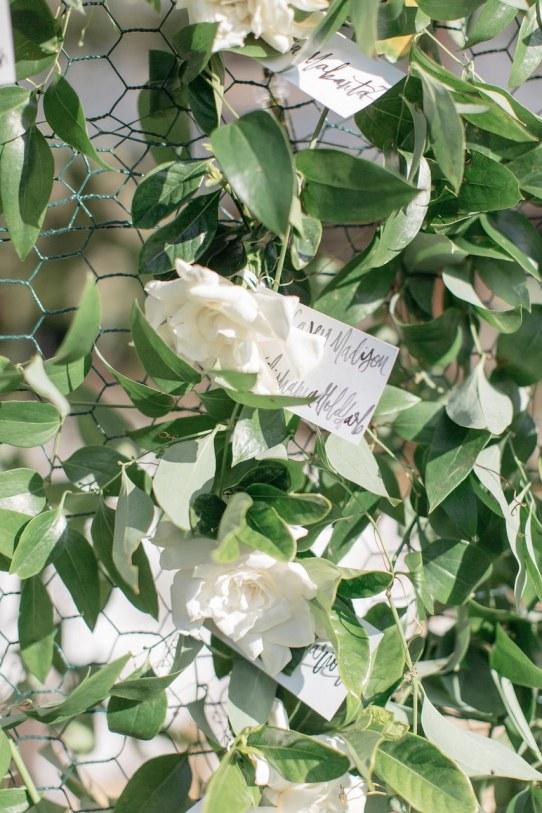 spring wedding inspiration and ideas rose escort cards kate holstein studio i do