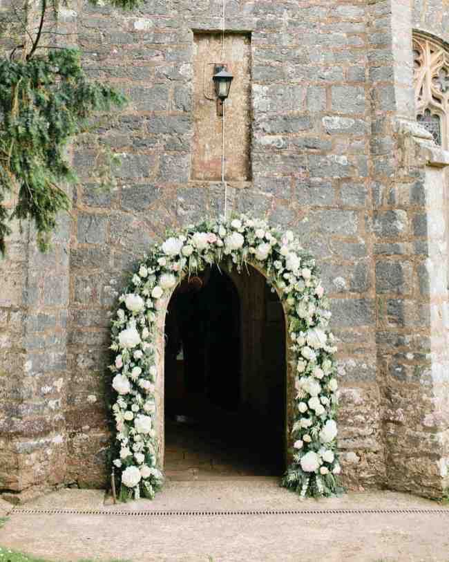spring wedding inspiration and ideas flower archway megan welker photography studio i do