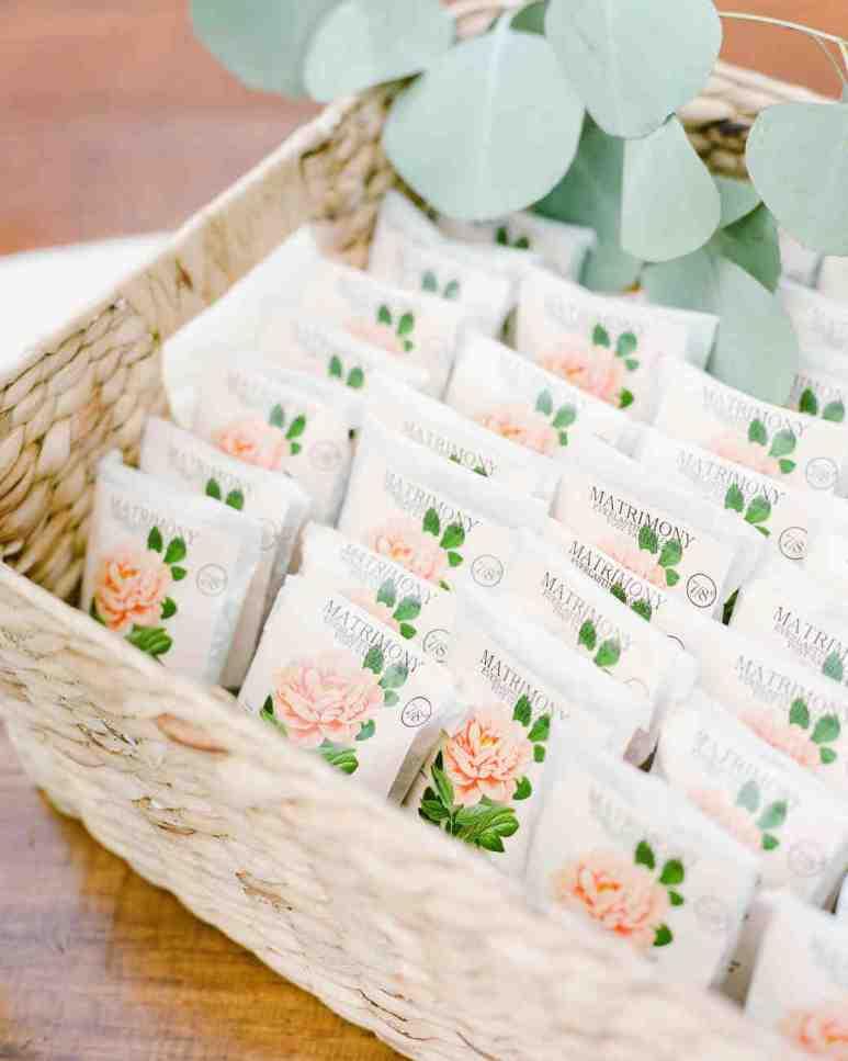 spring wedding inspiration and ideas seed packet wedding favors lisa blume studio i do