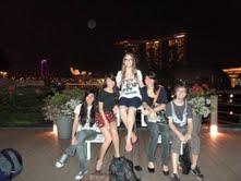 Friends in Singapore