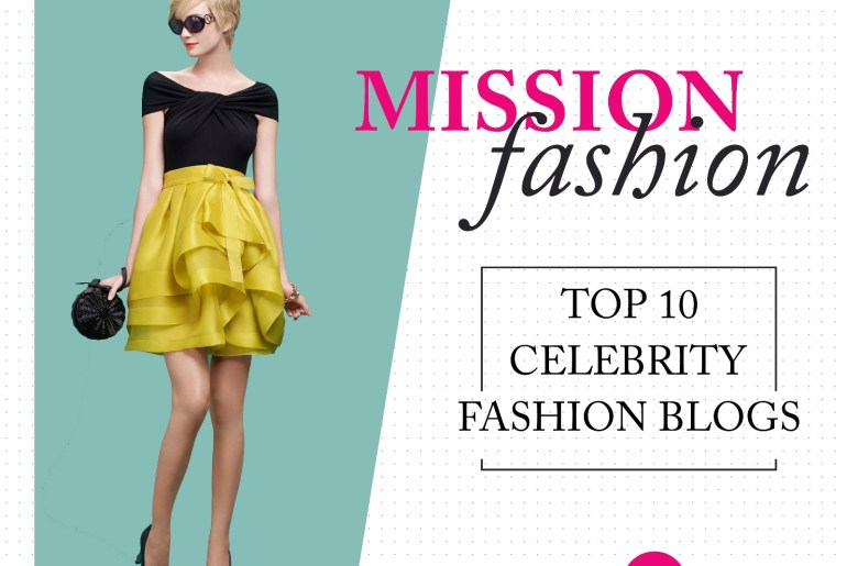 top 10 celebrity fashion blogs