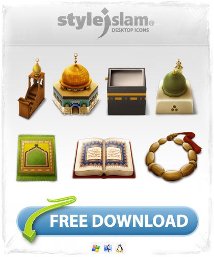 Free islamic icon pack download mac linux windows xp vista – Graphic