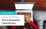 How to Respond to Client Reviews