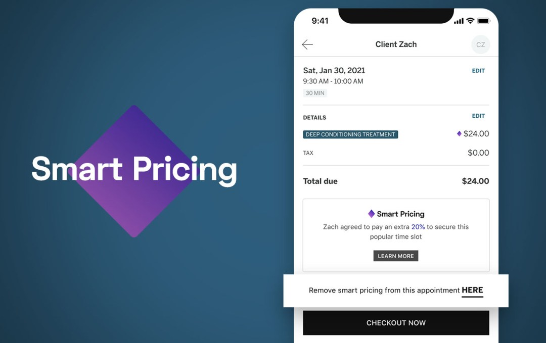 How to disable Smart Pricing in StyleSeat Pro booking