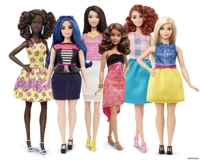 Barbie new models and shapes Unconventional fashionistas