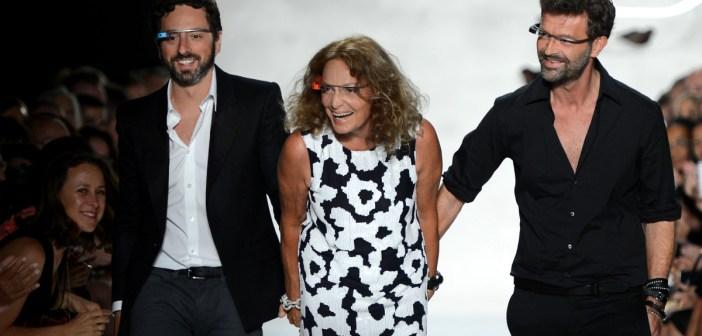 Wearable Tech - Stylight Blog Post - Diane Von Furstenberg Fashion Show NY 2012 - Source: Getty
