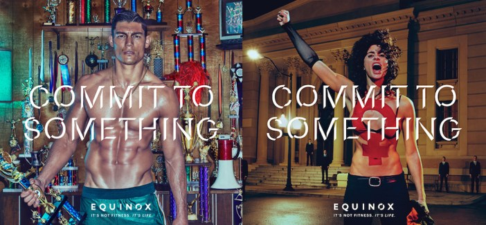 'Commit to Something' Equinox - Best PR Stunt Ideas - Stylight Blog