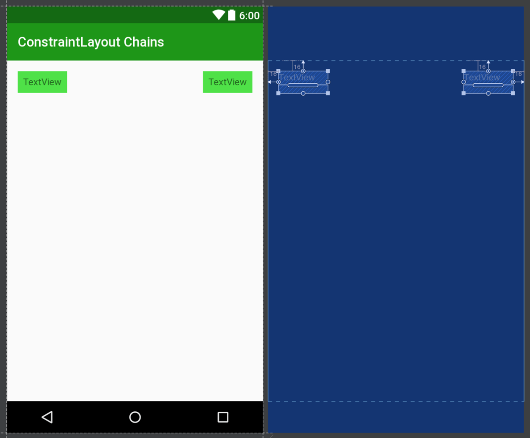 ConstraintLayout Chains – Part 1 – Styling Android