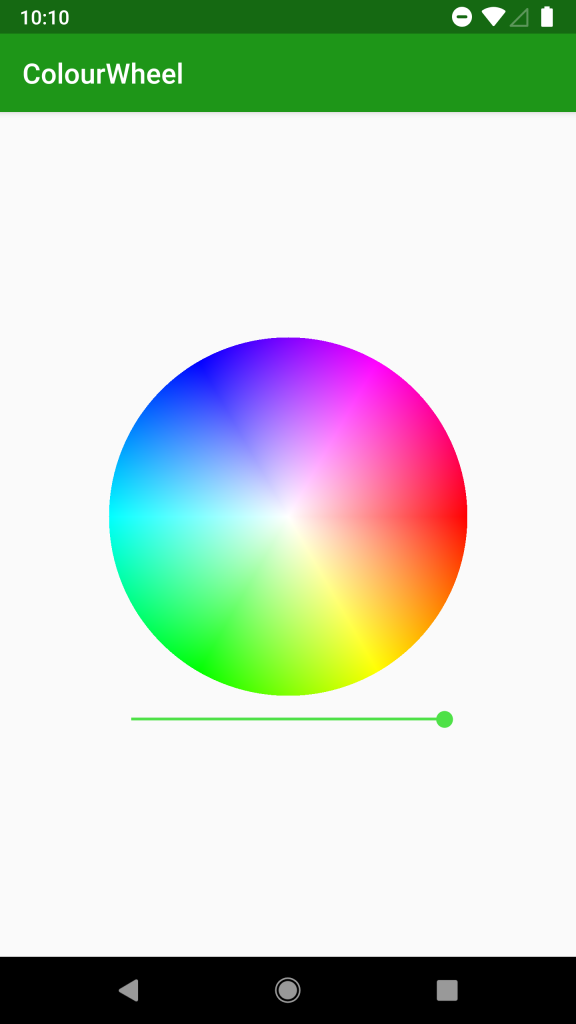 - Colour Wheel - Colour Wheel – Part 1 – Styling Android