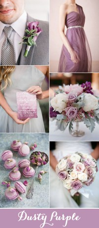 Top 7 Purple and Grey Wedding Color Palettes for 2017 ...