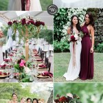 Wedding Trends 10 Fantastic Burgundy Color Combos For 2021 Stylish Wedd Blog