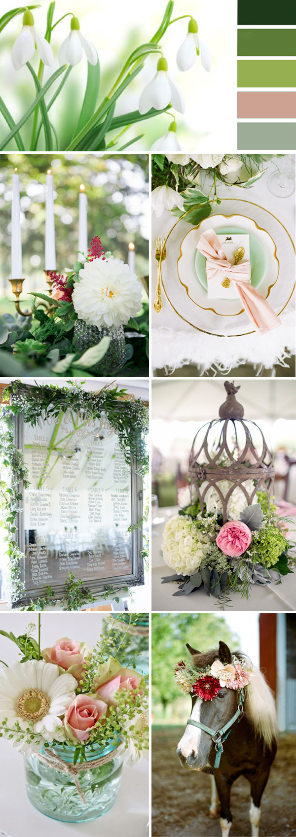 Top 10 Wedding Color Ideas for 2017 Spring  Stylish Wedd Blog