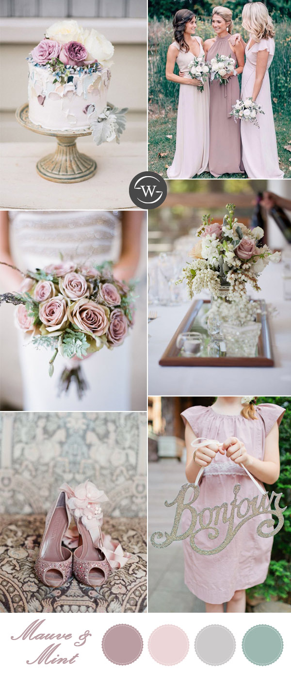 10 Romantic Spring  Summer Wedding Color Palettes for 2017 Brides  Stylish Wedd Blog