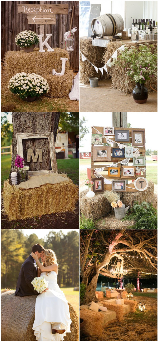 Simple Rustic Wedding Decorations