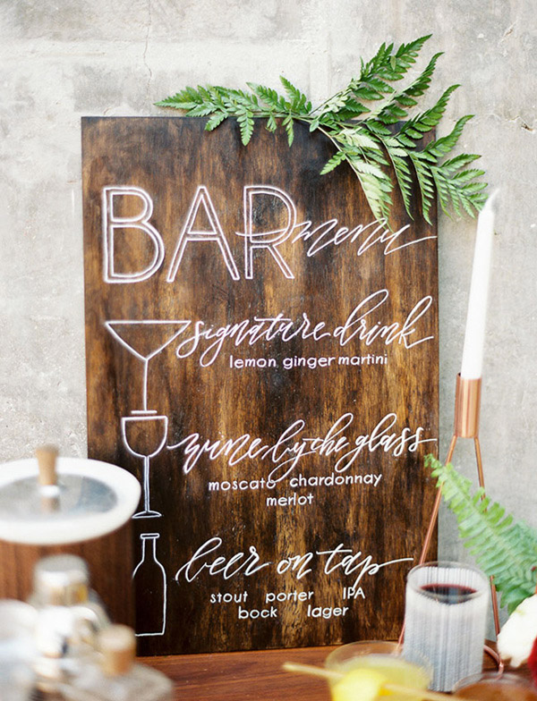 25 Wedding Signs Ideas to Make Your Wedding Super Cool and Awesome  Stylish Wedd Blog