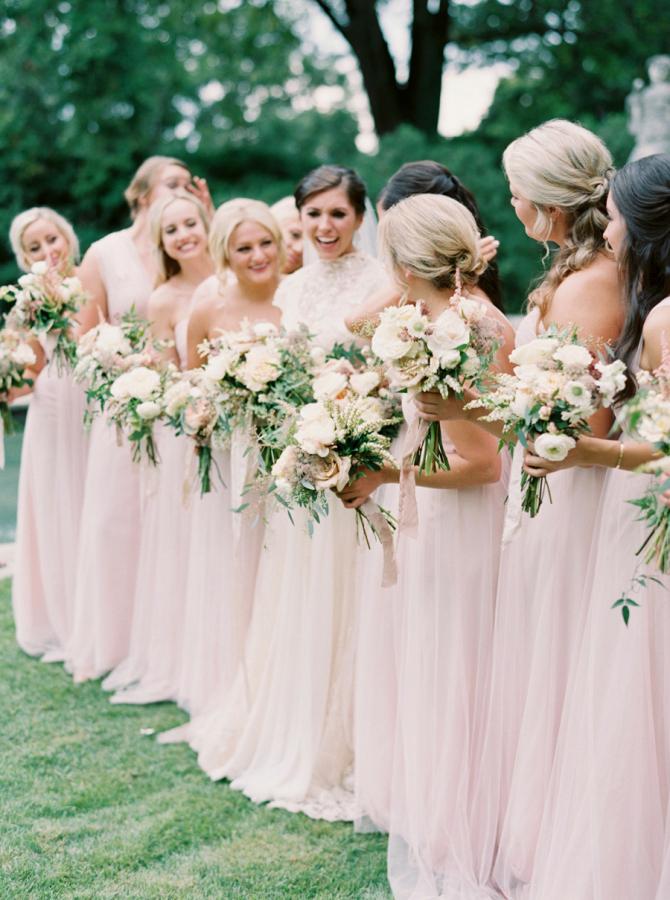 9b73dc5b7ee 2017 Summer Wedding Color Trends Elegant Blush Stylish Wedd Blog