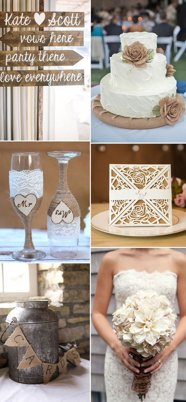 36 Perfect Ways to Decorate 2017 Rustic Weddings  Stylish