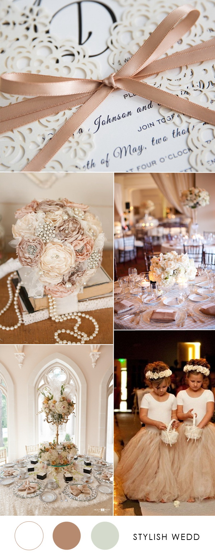 2017 Top 8 Trendy Elegant Wedding Invitations  Stylish Wedd Blog