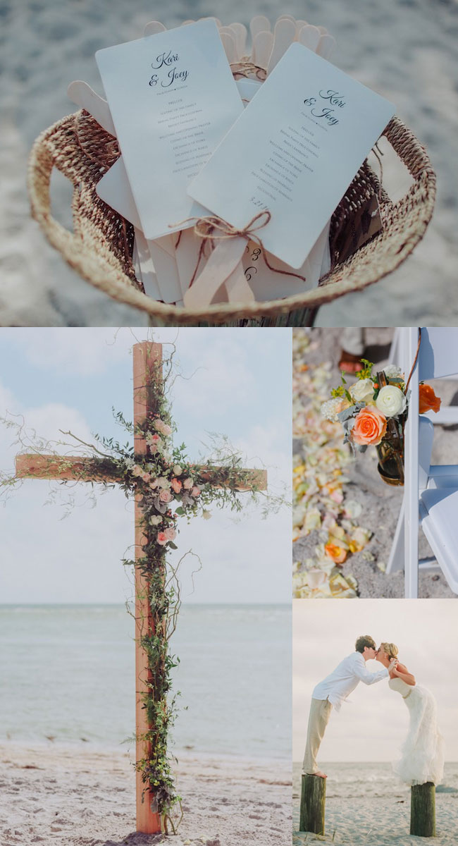 Romantic Boho Beach Themed Wedding Inspiration For Your Big Day  Stylish Wedd Blog