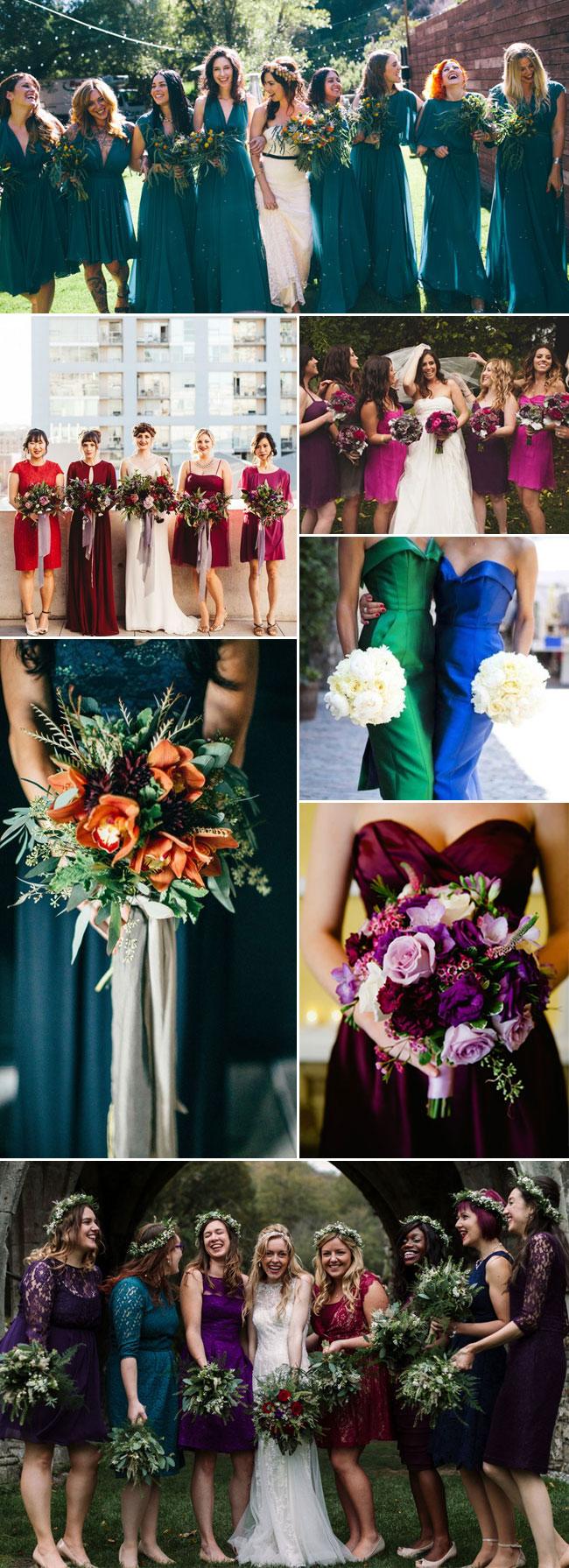 Jewel Toned Wedding Ideas Stylish Wedd Blog