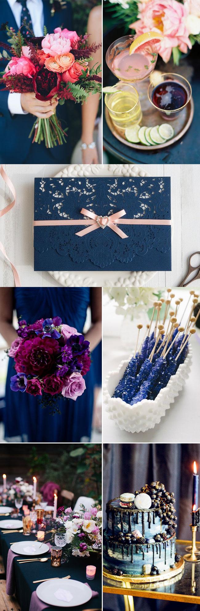 Fabulous Fall Wedding Inspiration Moody Jeweltoned