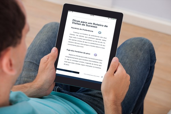 roteiro de visitas, vendas, pedidos, ebook, livro digital, SuasVendas