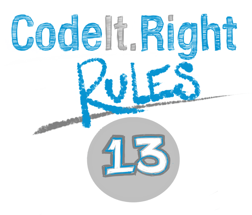 CodeIt.Right Rules Explained 13 includes