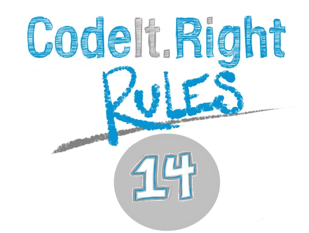CodeItRightRules14