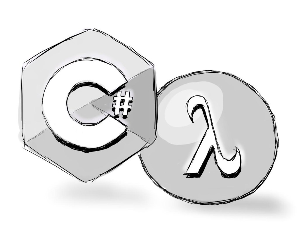 C# Lambda logos illustrating C# Functional Programming