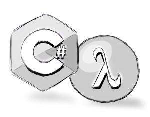 C# Lambda logos illustrating C# Functional Programming