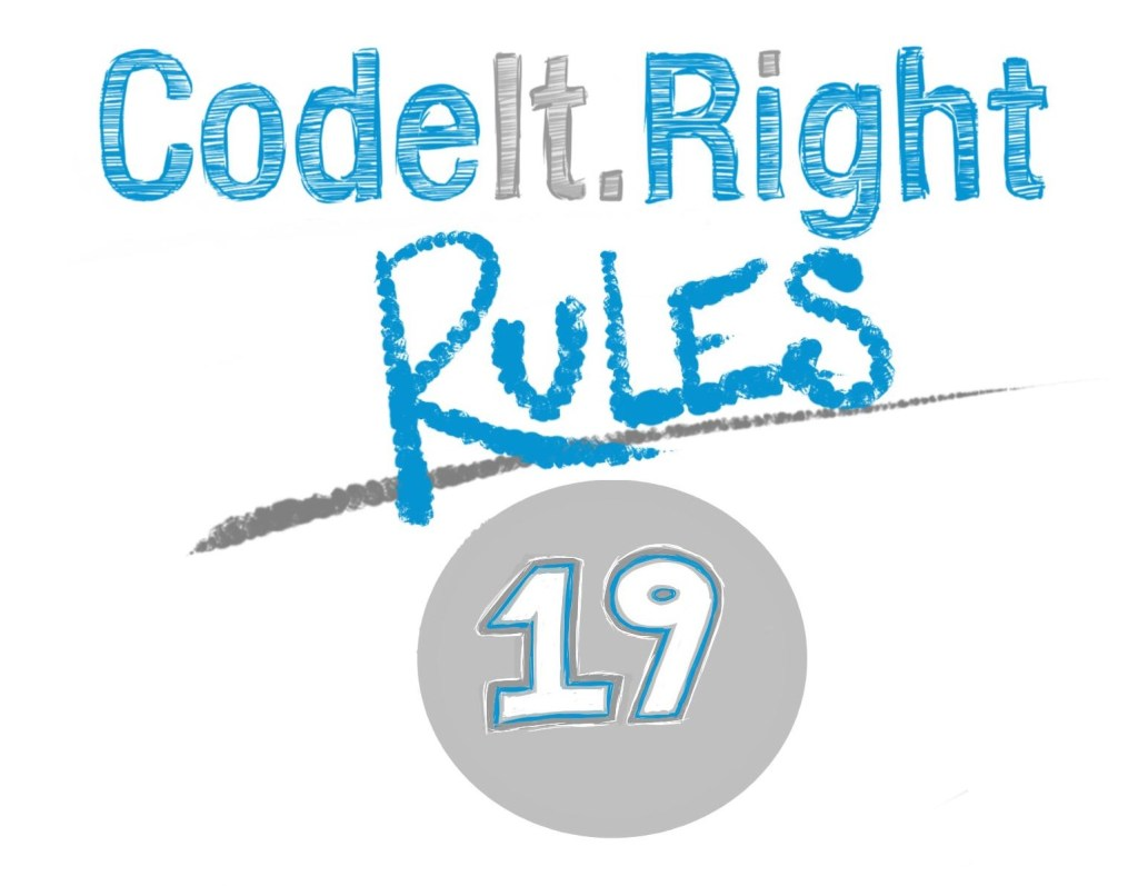 CodeItRight_Rules_19_SubMain