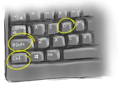 Cntrl shift d keys for GhostDoc launch shortcut visual studio comment shortcuts