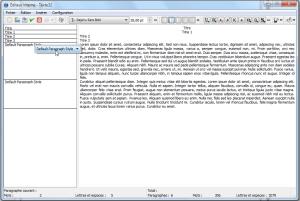Styles de paragraphes pour les non dyslexiques