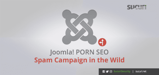Joomla Security – Pornography Spam Campaign in the Wild