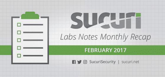 Labs Notes Monthly Recap – Feb/2017